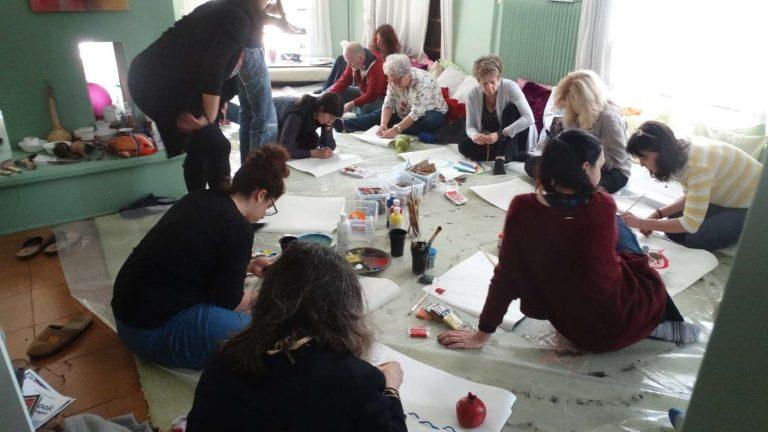 Έντεχνη δράση ομαδική ψυχοθεραπεία μέσω τέχνης