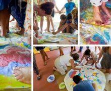 ομαδική ψυχοθεραπεία Συλλογή εικόνων απο ομαδική ψυχοθεραπεία μέσω τέχνης σε εναλλακτικές διακοπές